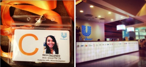 New job @ Unilever.
